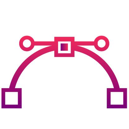 icona vettorializzazione logo